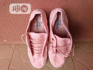 Girls Lace-Up Pink Sneakers (Teen)   Children's Shoes for sale in Lagos State, Lekki