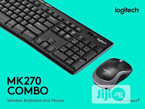 Logitech Mk270 Wireless Keyboard And Mouse Wireless