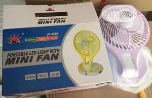 Rechargeable Fan With Led Light | Home Appliances for sale in Lagos State, Surulere