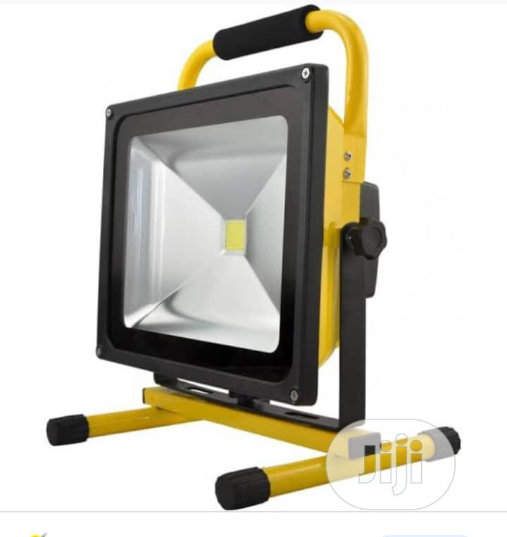 Rechargeable Video Flood Light 20w Led.   Home Accessories for sale in Ikeja, Lagos State, Nigeria