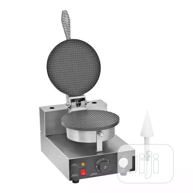 High Quality Commercial Electric Single Plate Ice Cream Cone Maker