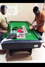 7ft Snooker Board With Complete Accessories | Sports Equipment for sale in Lagos State, Victoria Island