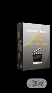 How To Create Your Own Physical Video Products   Books & Games for sale in Lagos State, Agboyi/Ketu