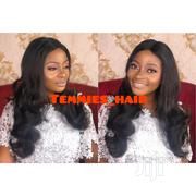 Human Hair 22inches Long Closure Wig Dm or Whatsapp | Hair Beauty for sale in Lagos State, Alimosho