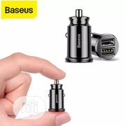 Baseus 3.1A Car Charger Mini Fast Charging In Car | Vehicle Parts & Accessories for sale in Lagos State, Ikeja