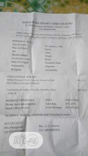Sales & Telemarketing CV | Sales & Telemarketing CVs for sale in Lagos State, Ikeja