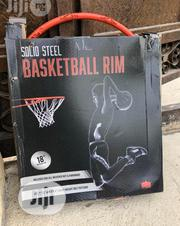 Solid Steel Basketball Rim   Sports Equipment for sale in Lagos State, Agboyi/Ketu