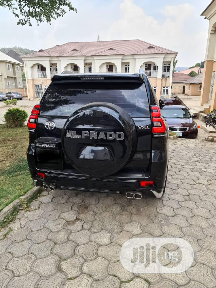 Toyota Land Cruiser Prado 2018 Black | Cars for sale in Maitama, Abuja (FCT) State, Nigeria