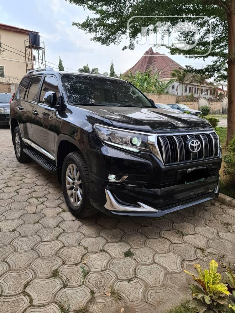 Toyota Land Cruiser Prado 2018 Black