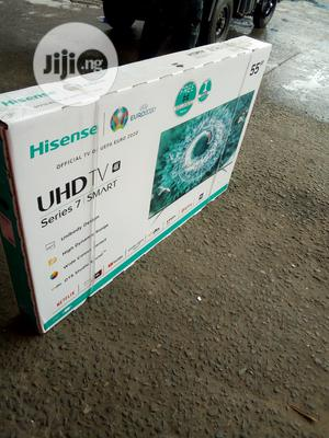 Hisense 55 Inches Tv   TV & DVD Equipment for sale in Rivers State, Port-Harcourt