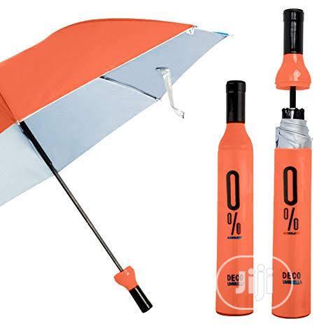 Wine Bottle Folding Umbrella | Clothing Accessories for sale in Lagos Island, Lagos State, Nigeria