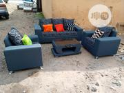 Set Of 5 Seaters Sofa Chairs With Centre Table. Fabric Couch Of 3-1-1 | Furniture for sale in Lagos State, Agege