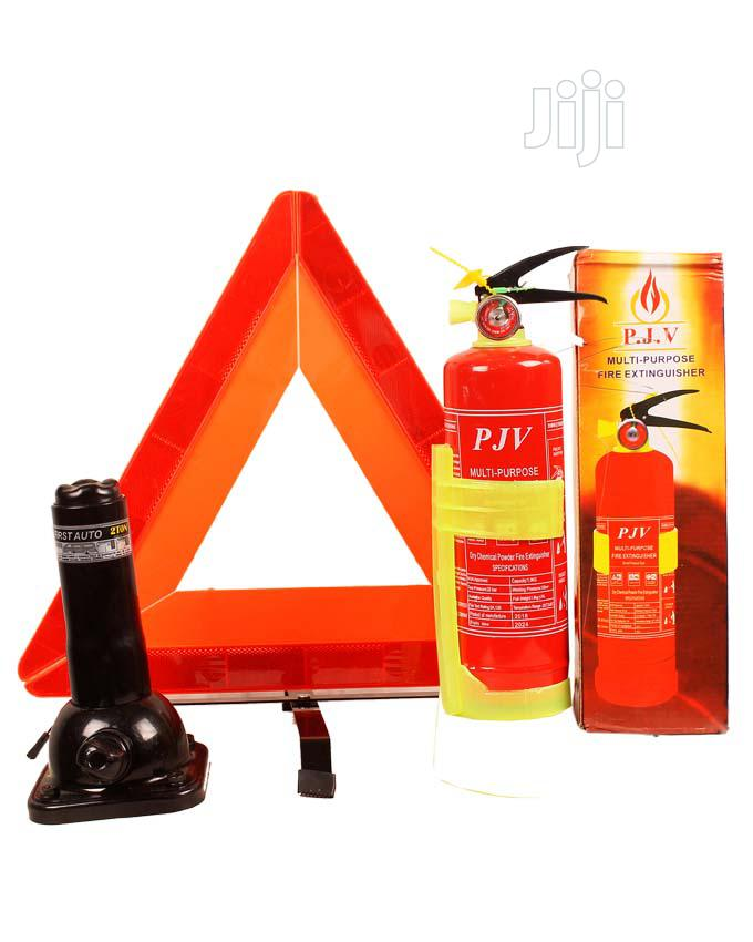 C-caution, Jack And Fire Extinguisher 1kg