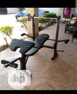 Weight Bench With 50kg | Sports Equipment for sale in Lagos State, Ikeja