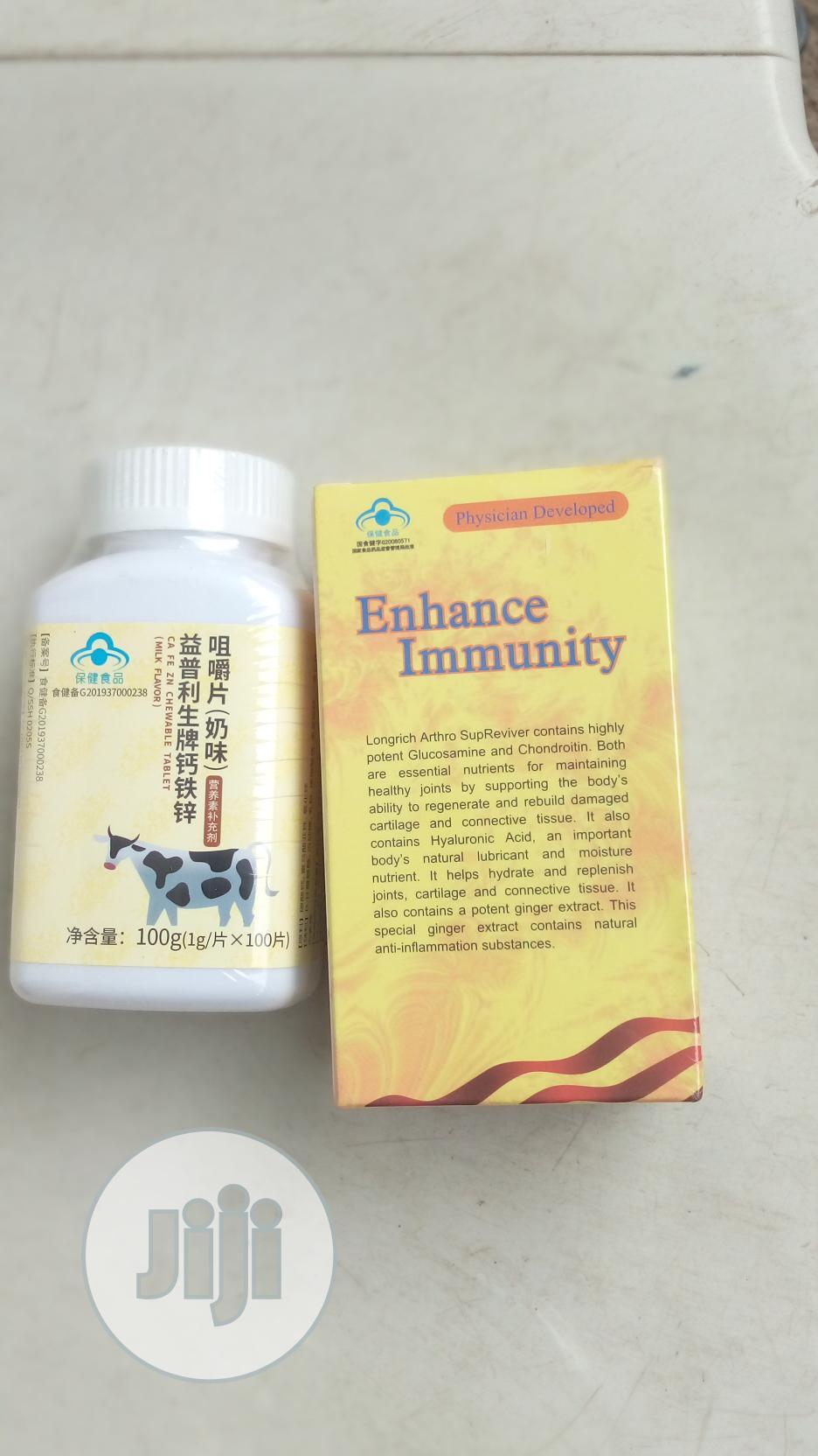 Longrich Arthro Supreviver Calcium(Milky Taste) | Vitamins & Supplements for sale in Ikeja, Lagos State, Nigeria