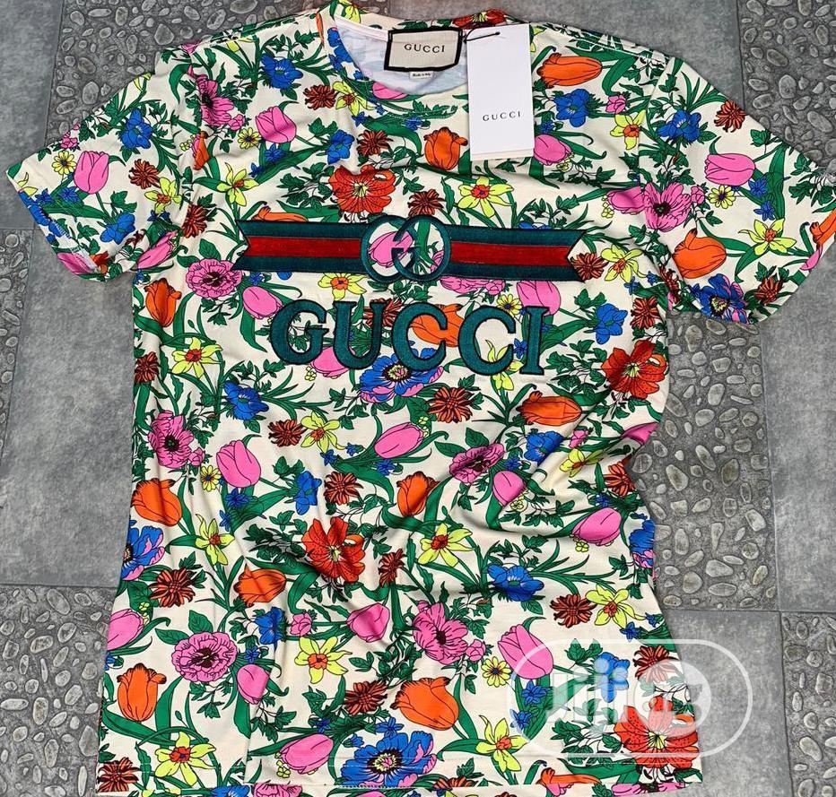 Gucci Unisex Round Neck T-Shirt