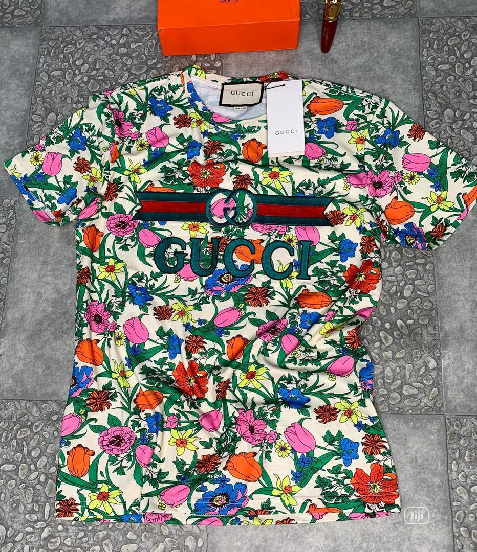 Gucci Unisex Round Neck T-Shirt   Clothing for sale in Surulere, Lagos State, Nigeria