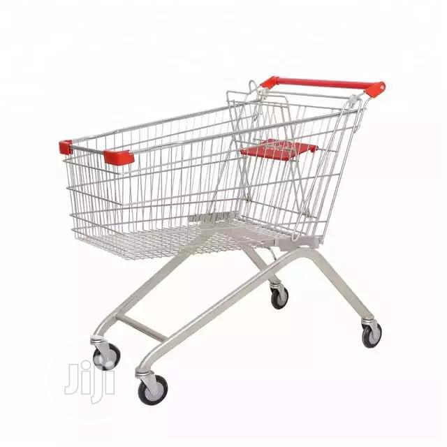 Supermarket Metal Trolley