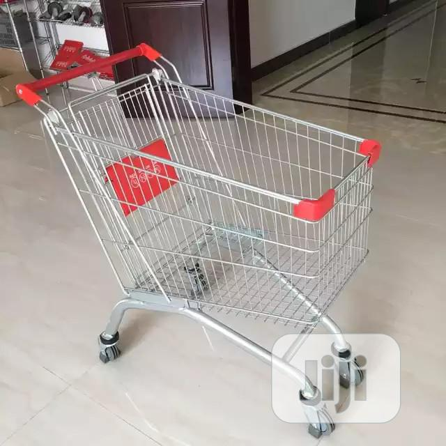 Supermarket Metal Trolley | Store Equipment for sale in Ojo, Lagos State, Nigeria