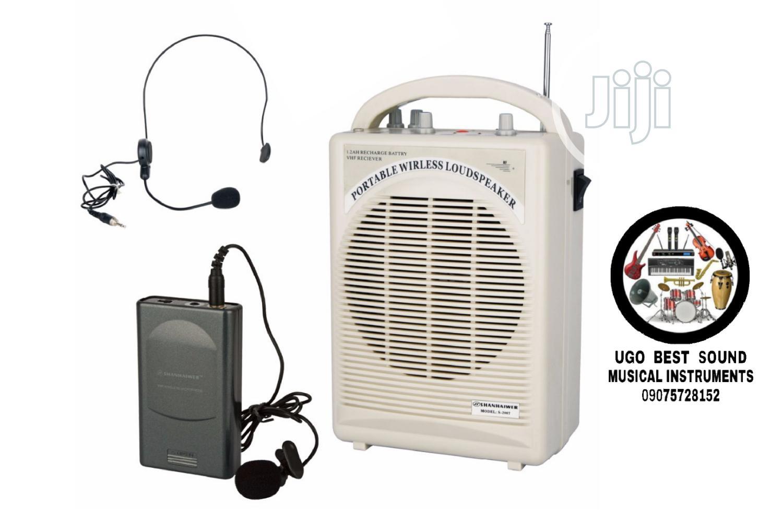 Rechargeable Portable Wireless Pa Loudspeaker