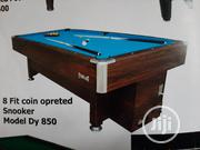 8 Fit Coin Opreted Snooker Model Dy 850 | Sports Equipment for sale in Abuja (FCT) State, Utako