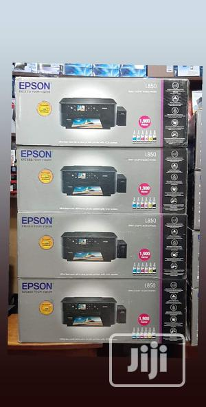 EPSON L850 DVD /CD And 3 In 1 Printer   Printers & Scanners for sale in Lagos State, Lagos Island (Eko)