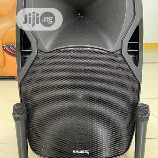 """Majestic 15"""" Bluetooth Trolley P.A System 