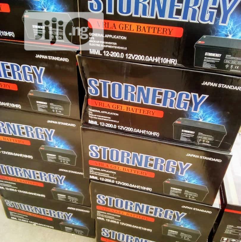 200ah 12v Stornergy Battry