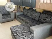 L Shape Fabric Sofa | Furniture for sale in Lagos State, Ojo