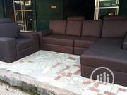 L Shape Fabric Sofa. | Furniture for sale in Lagos State, Ojo