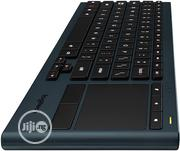 Logitech K830 Illuminated Living-Room Keyboard With Built-In Touchpad | Computer Accessories  for sale in Lagos State, Ikeja