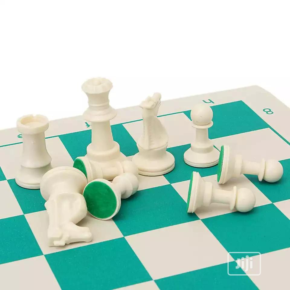 Professional Tournament Chess Set With Case | Books & Games for sale in Surulere, Lagos State, Nigeria