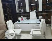 Glass Table With Chairs | Furniture for sale in Lagos State, Ojo
