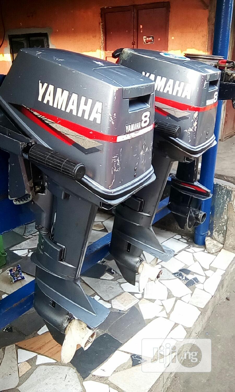 American 8hp Yamaha Engine