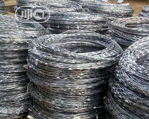 Hot Dip Quailty Concentina Razor Wire | Building Materials for sale in Lagos State, Surulere