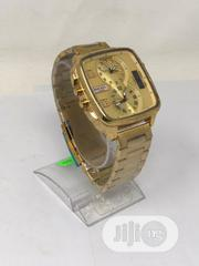 DIESEL 5 Bar Gold Chain Wrist Watch | Watches for sale in Oyo State, Ibadan