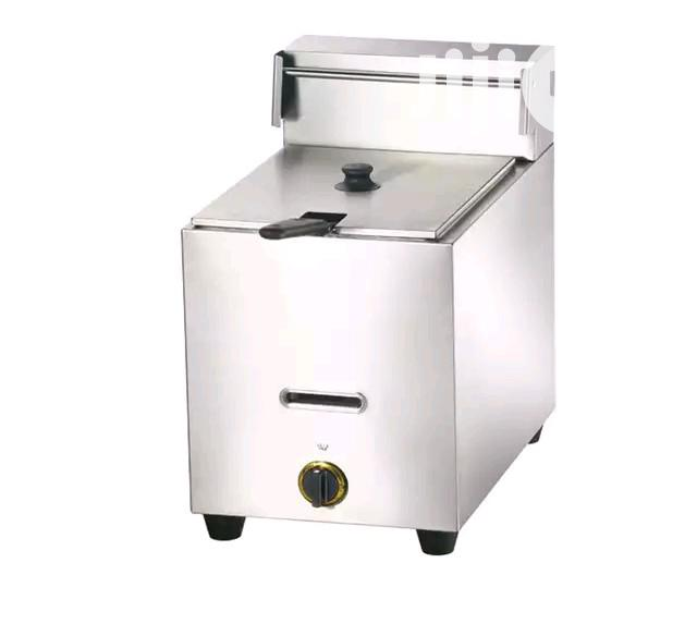 Stainless Steel Industrial Gas Deep Fat Fryer | Kitchen Appliances for sale in Ojo, Lagos State, Nigeria