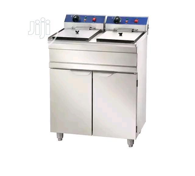 Stainless Steel Fried Chicken Pressure Deep Fryer Machine