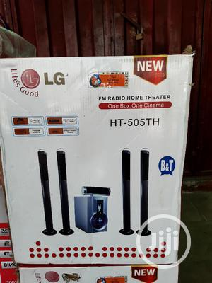 LG Home Theatre 1000wax With Bluetooth and Woofer 2years War   Audio & Music Equipment for sale in Lagos State, Yaba