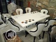 Cristal Mable Dining Table | Furniture for sale in Lagos State, Ikeja