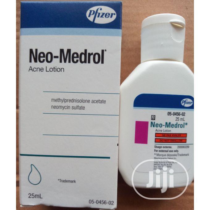 Pfizer Neo Medrol 4 Pimples AND Razor Shave Bumps