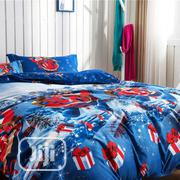Quality Multi Coloured Duvet,Bedsheet With 4 Pillow Cases | Home Accessories for sale in Lagos State, Ikeja