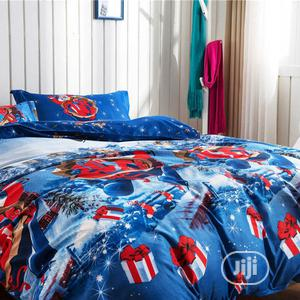 Quality Multi Coloured Duvet,Bedsheet With 4 Pillow Cases   Home Accessories for sale in Lagos State, Ikeja