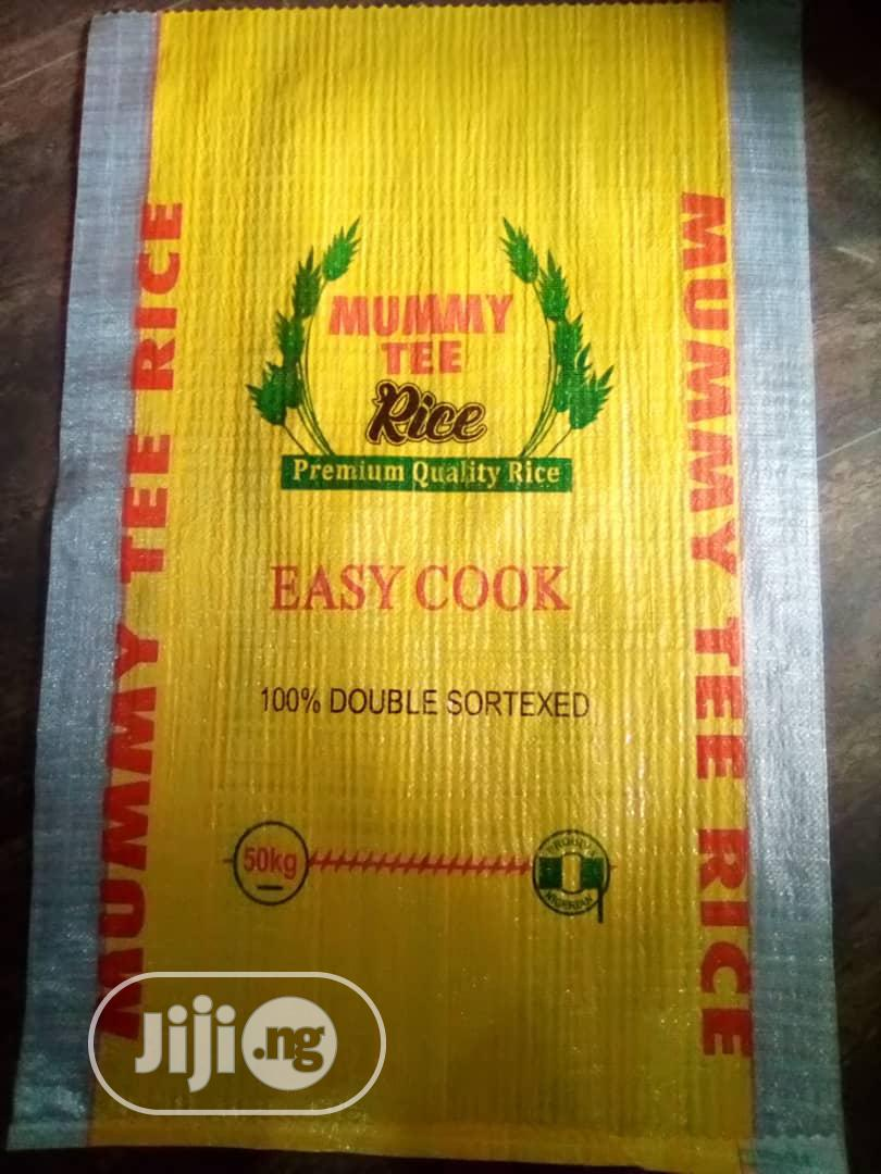 Rice Sack Bags