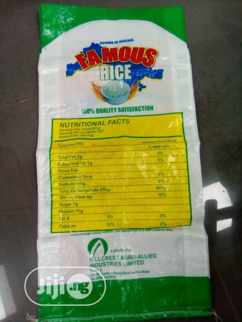 Rice Sack Bags | Manufacturing Services for sale in Ado-Odo/Ota, Ogun State, Nigeria