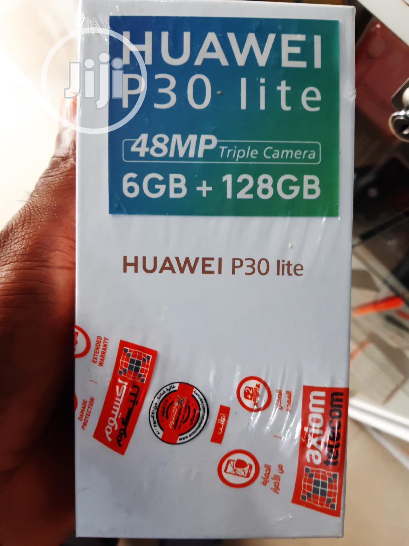 New Huawei P30 Lite 128 GB Black