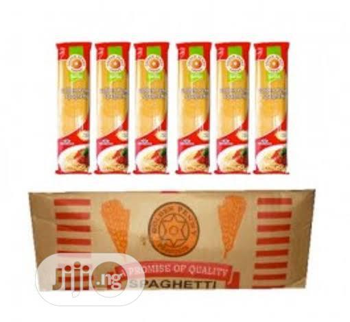 A Carton Of Spaghetti