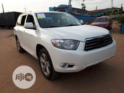 Toyota Highlander 2008 Sport White | Cars for sale in Lagos State, Agege