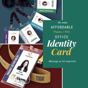 We Print PVC/Plastic ID CARD   Manufacturing Services for sale in Lagos State, Surulere