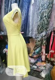 Yellow Colour High Low Gown Fr Birthday, Parties, Events | Clothing for sale in Lagos State, Apapa